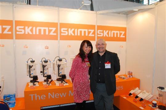 Skimz Protein Skimmer at Interzoo 2010
