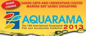 Aquarama 2013 change venue