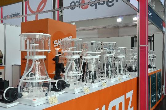 Skimz Protein Skimmer at Interzoo 2014
