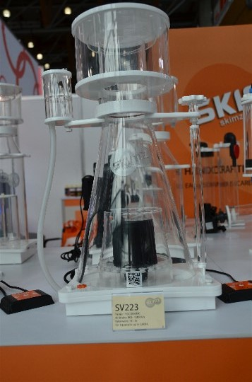Skimz Protein Skimmer at Interzoo 2014