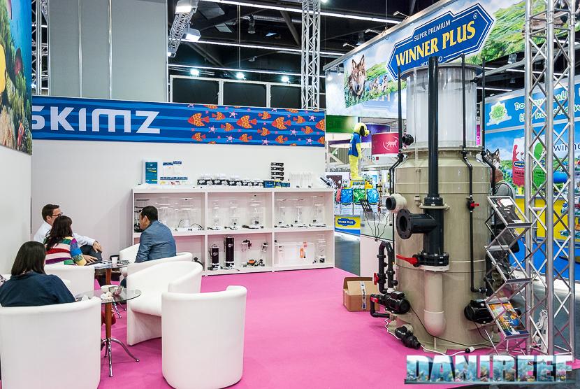 Interzoo 2018 Skimz Protein Skimmer