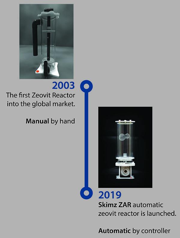 Skimz zeovit automatic reactor